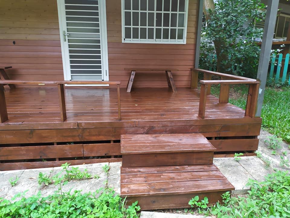 木屋油漆保養
