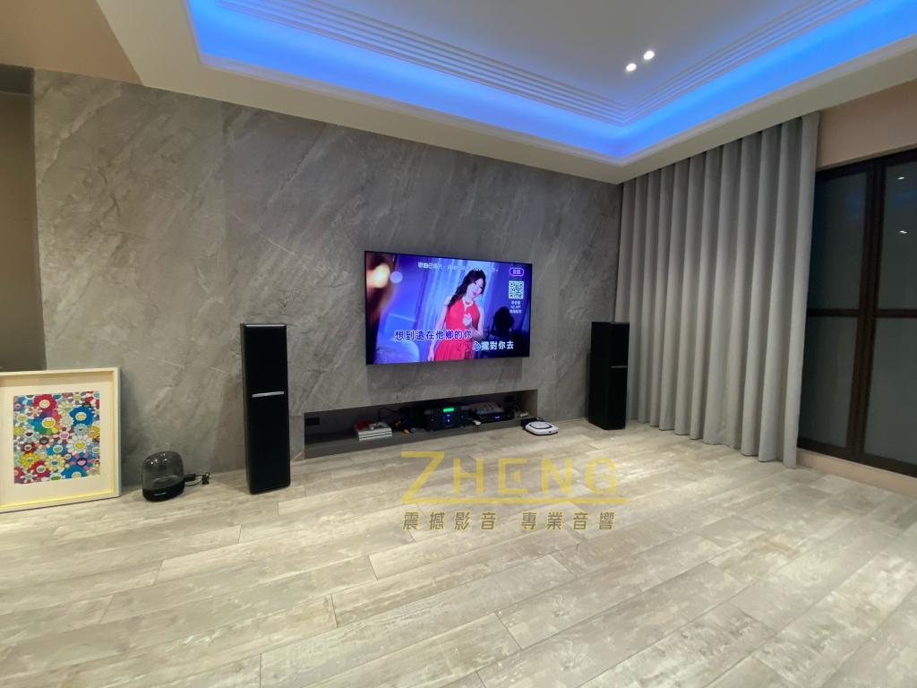 頂級豪宅 - KTV劇院音響系統